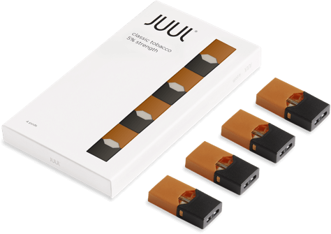 JUUL CLASSIC TOBACCO PODS INDIA