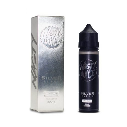 Nasty Juice Silver Blend (Vanilla Tobacco) E liquid 60ml