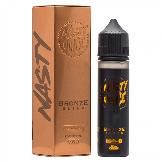 Nasty Juice Bronze Blend (Caramel Tobacco) E liquid 60ml