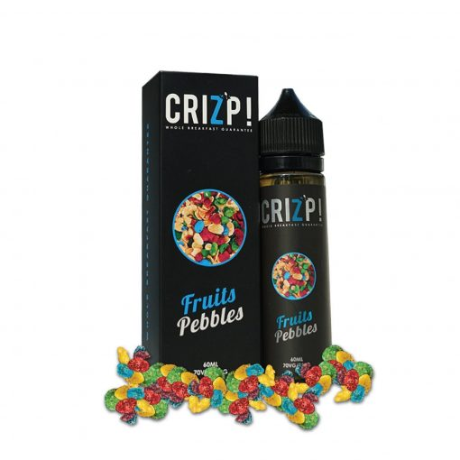 Crizp Brew - Fruits Pebbles E-liquid in India