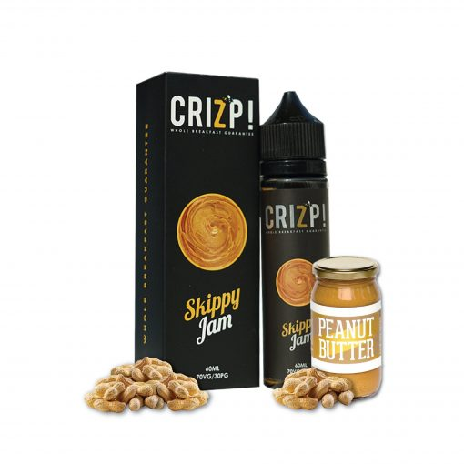 Crizp Brew - Skippy Jam E-liquid in India