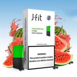 J Fit Watermelon Pods Compatible With JUUL Device