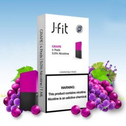 J Fit Purple Berry Pods Compatible With JUUL Device in India
