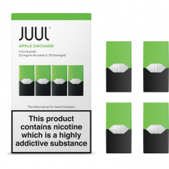 1.7% Juul Apple Orchard Vape Pod Cartridge in India