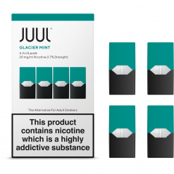 1.7% Juul Glacier Mint Vape Pod Cartridge