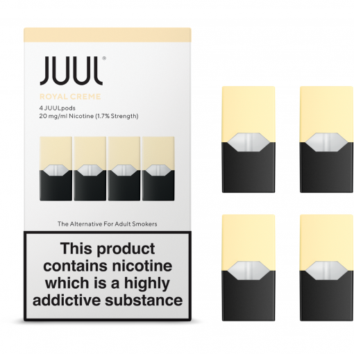 1.7% Juul Royal Creme Vape Pod Cartridge in India