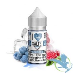 Mad Hatter I Love Salts Blue Raspberry Ice (Raspberry Candy, Menthol) Nic Salt E liquid