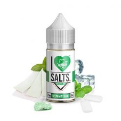 Mad Hatter I Love Salts Spearmint Gum Nic Salt E liquid