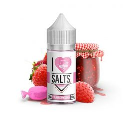 Mad Hatter I Love Salts Strawberry Candy Nic Salt E liquid