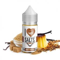 Mad Hatter I Love Salts Sweet Tobacco Nic Salt E liquid India