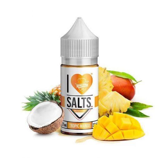 Mad Hatter I Love Salts Tropic Mango Nic Salt E liquid